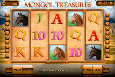 Mongol Treasures logo