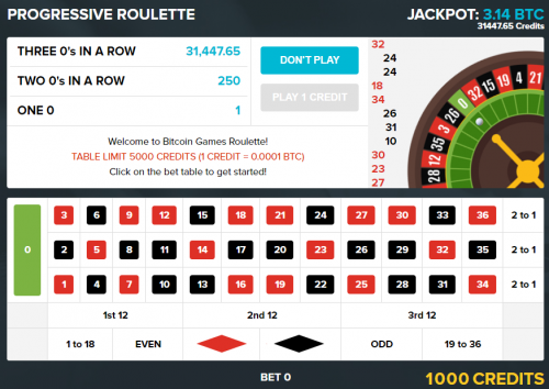 Bitcoin Games casino screenshot 2