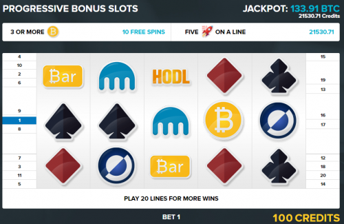 Bitcoin Games casino screenshot 4