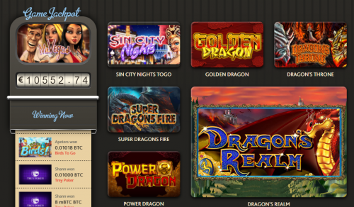 7BitCasino casino screenshot 1