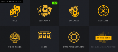 CoinRoyale casino screenshot 1
