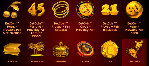 Betcoin.tm casino screenshot 3