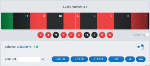 BitDouble casino screenshot 1