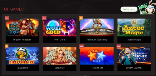 BitStarz casino screenshot 2