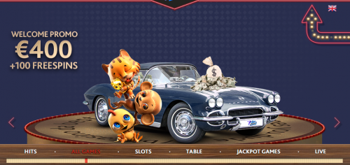 7BitCasino casino screenshot 2