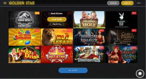 Golden Star Casino casino screenshot 1