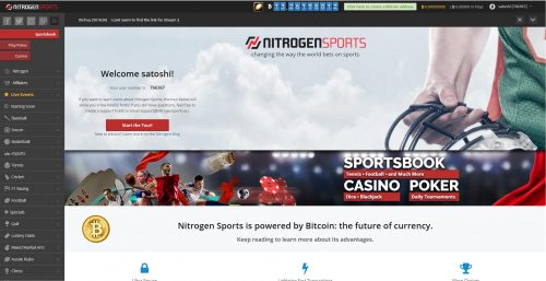 Nitrogen Sports casino screenshot 2