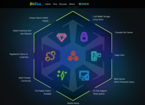 BitDice casino screenshot 3