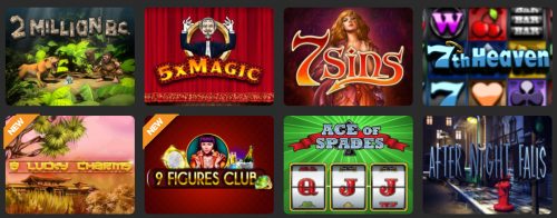 CloudBet casino screenshot 3