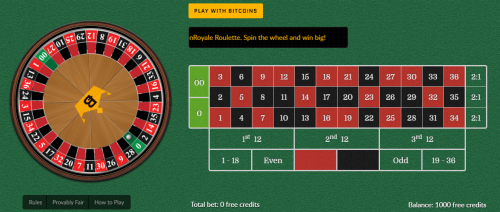 CoinRoyale casino screenshot 3