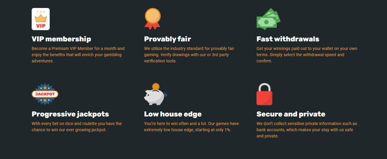 crypto.games offers everything yu could want from an online BTC casino.