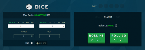 CryptoBetfair casino screenshot 4