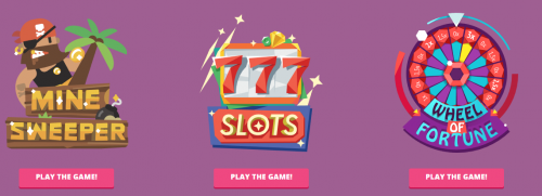 CryptoGames.io casino screenshot 1