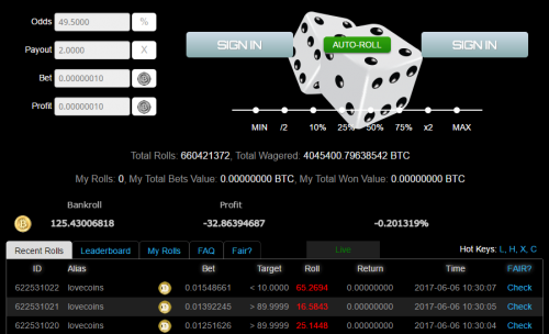 Peerbet casino screenshot 1