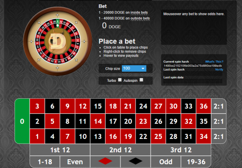 DOGESPIN casino screenshot 1