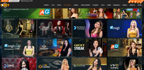 1xBit Casino casino screenshot 3