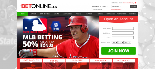 BetOnline casino screenshot 1
