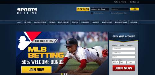SportsBetting.ag casino screenshot 1