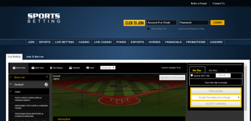 SportsBetting.ag casino screenshot 3