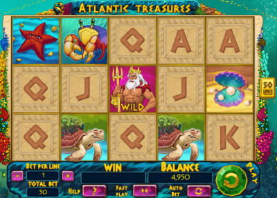 Atlantic Treasures logo