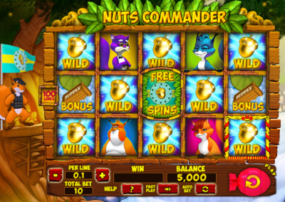 Nuts Commander logo