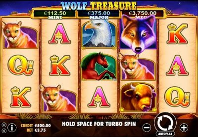 Wolf Treasure logo