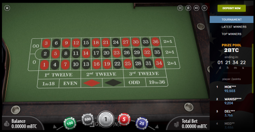 BitcoinCasino.us casino screenshot 1
