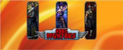 Reel Fighter logo