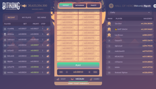 BitKong casino screenshot 1