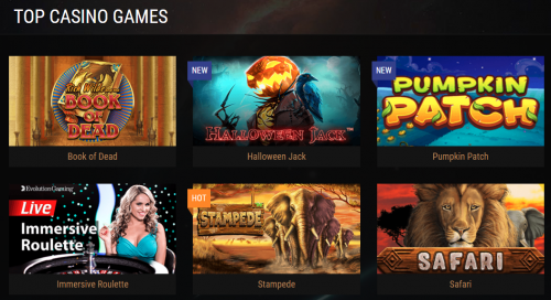 King Billy Casino casino screenshot 1