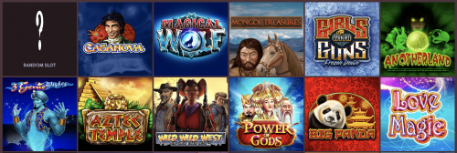 GUNSBET casino screenshot 1