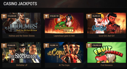 King Billy Casino casino screenshot 2