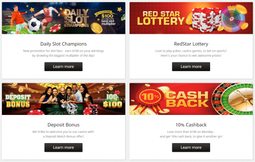 Redstar Casino casino screenshot 1