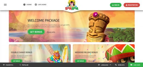 BoaBoa casino screenshot 1