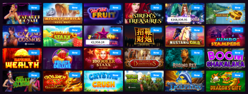 Wildblaster casino screenshot 2