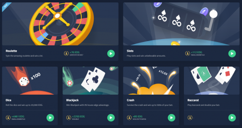 Edgeless casino screenshot 1