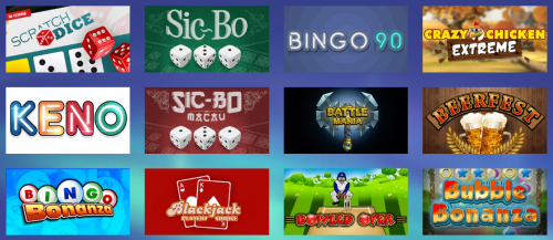 Konung Casino casino screenshot 2