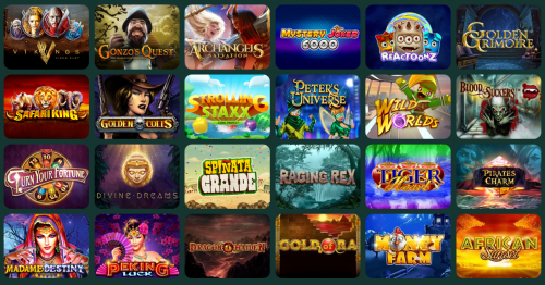 MonteCryptos Casino casino screenshot 2