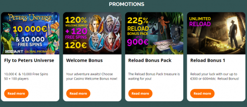 MonteCryptos Casino casino screenshot 3