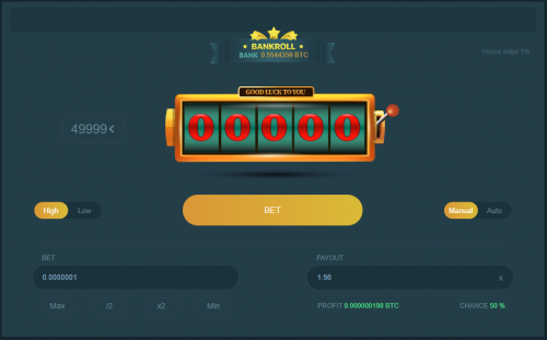 BC Game casino screenshot 2