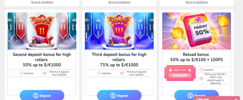 Slotum Casino casino screenshot 1