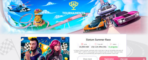 Slotum Casino casino screenshot 3