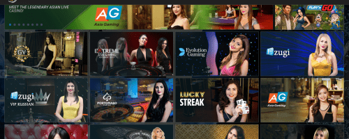 1xBit Casino Screenshot 1