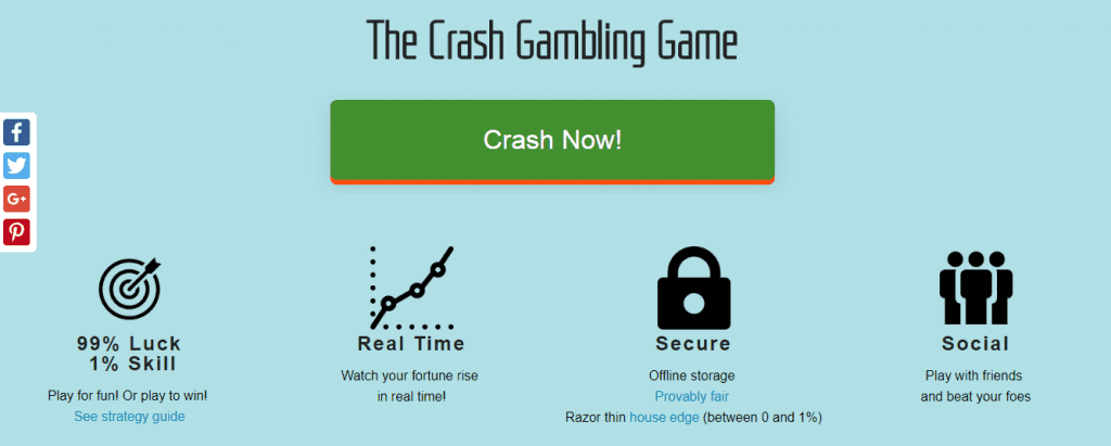 Crash gambling is the way into the future of online casino
