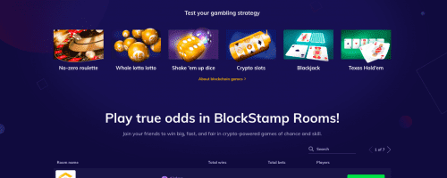 Blockstamp Games Screenshot 1