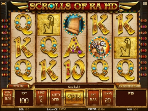 Scrolls of Ra HD review