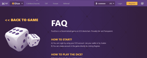 Trust Dice Screenshot 1