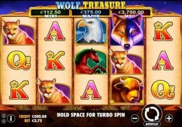 Wolf Treasure screenshot