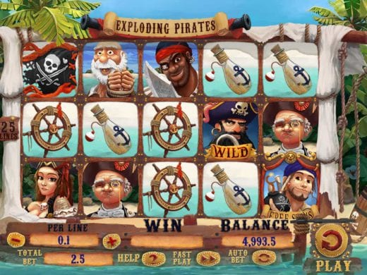 Exploding Pirates review