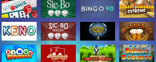 Konung Casino Screenshot 1